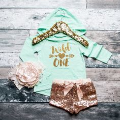 Birthday Outfit Wild One Hoodie First by ShopVivaLaGlitter on Etsy