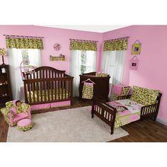 Nickelodeon Dora The Explorer Exploring Wild 5 Piece Crib To Toddler Bedding Set