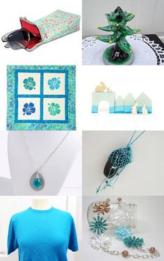 Sea blue ~!~ by MINNETTA HEIDBRINK on Etsy--Pinned with TreasuryPin.com