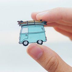 Adventuremobile // Enamel Pin by KyLynnRichey on Etsy