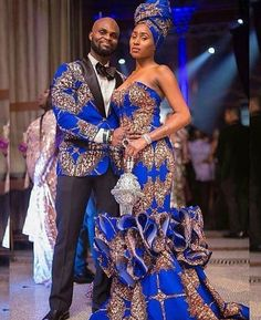 african couple dashiki prom dress,african ankara wedding dress for couple,African couple wedding outfit,african clothing for women African Prom Dresses, African Wedding Dress, African Dress, African Clothes, African Wear, African Theme, African Weddings, Ankara Dress, African Lace