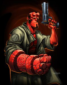 Hellboy by el-grimlock.deviantart.com on @DeviantArt