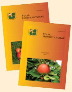 Folia Horticulturae  http://ptno.ogr.ar.krakow.pl/Wydawn/FoliaHorticulturae/folia.htm