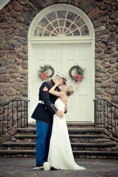Marine Wedding  www.atyourserviceweddings.net  www.facebook.com/rocnrevmike