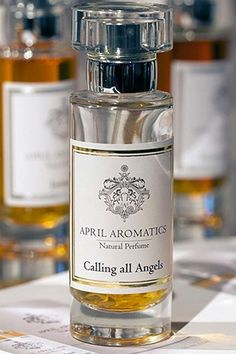 Calling All Angels by April Aromatics is a sweet, warm, spicy, balsamic Oriental fragrance with rose, incense and honey in the top/middle. Woody notes, vanilla, opopanax, amber, elemi, labdanum, tonka, benzoin, and olibanum in the base. - Fragrantica