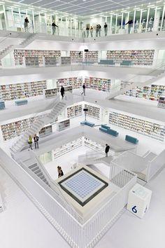 Biblioteca de Stuttgart (Alemania)