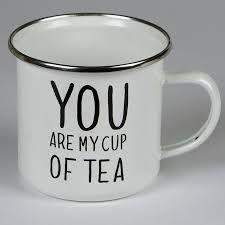 Image result for tin mug