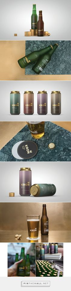 Krone (Crown) Beer on Behance - created via https://pinthemall.net