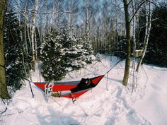 Who says you can't hammock in the winter? My new @enohammocks @seattlestravels