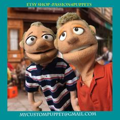 Custom full body Look a like  Professional Puppet Portrait Puppet ! by…                                                                                                                                                                                 More