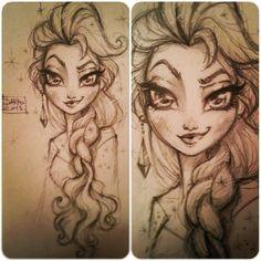 funcentrate.com » Disney Drawings Tumblr Frozen