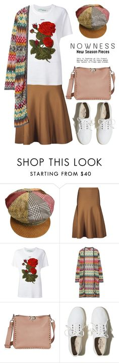 """""""Casual Cardigans 3050"""" by boxthoughts ❤ liked on Polyvore featuring Roberto Cavalli, Cushnie Et Ochs, Off-White, Missoni and Hollister Co."""