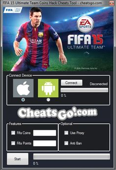 Fifa 15 Ultimate Team Android and iOS Hack