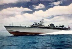 PT boat. #PatrolTorpedoBoat #USN #WorldWarII