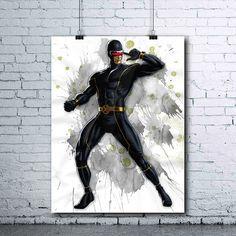 X-MEN Cyclops  Cyclops Poster  Cyclops Print  Marvel