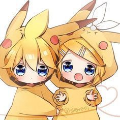 Browse Pokemon VOCALOID Kagamine Len collected by JerrY and make your own Anime album. Cute Anime Chibi, Kawaii Chibi, Kawaii Anime Girl, Anime Love, Hatsune Miku, Len Y Rin, Kagamine Rin And Len, Pikachu Pikachu, Pokemon Pokemon