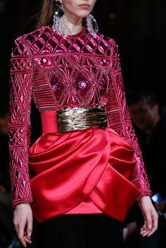 Balmain Fall 2013 Ready-to-Wear Fashion Show Details