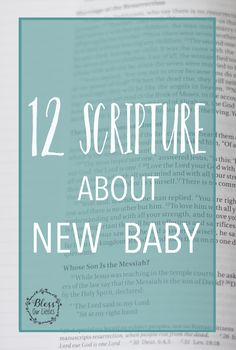 Children are such a blessing from the Lord! When a newborn is welcomed into the world, we want to cover them with prayer and blessing. Here are 12 Bible Verses that you can pray over a newborn! Baby Bible Verses, Verses For Kids, Bible For Kids, Blessing Quotes Bible, Blessed Quotes, Welcome New Baby, Welcome Baby Girls, New Baby Quotes, Boy Quotes