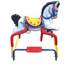 American Classic Toy Destiny Pony The Wonder Horse Ride On PinkBlue *** AMAZON Great Sale