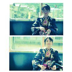 ✨ #着物#ootd#kimono#kyoto#japan#眼鏡 #pupuru #wifirental #yukata