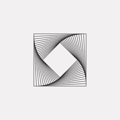 A new geometric and minimal design every day. Op Art, Arte Linear, Cloud Drawing, Illusion Art, Happy Art, Abstract Drawings, Mosaic Designs, Patterns In Nature, Sacred Geometry