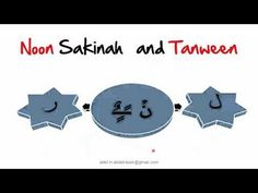 """Noon Sakinah and Tanween Rule#3 """" Idgham without Ghunnah"""" الإدغام بلا غنة - YouTube"""