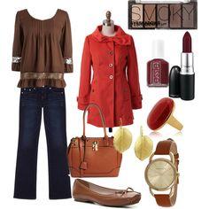 """Autumn Colors"" by marissa-undercofler on Polyvore"
