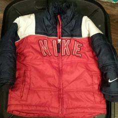 Toddler Nike coat Red/navy/white toddler Nike winter coat Nike Jackets & Coats Puffers