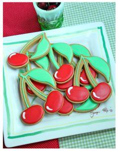 Kersen koekjes door Sweetopia.net / cherry cookies