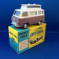 corgi toys ford thames camper - Google Search