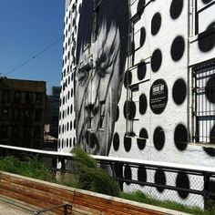 On The High Line in New York
