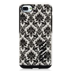 Insten / White Lace Flower Hard Snap-on Dual Layer Hybrid Case Cover For Apple iPhone 7 #2272939