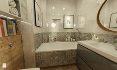 łazienki w stylu skandynawskim - Łazienka, styl skandynawski - zdjęcie od…