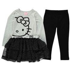 Hello Kitty Juego De Vestido de tamaño 92-140 dos Leggings Niñas Vestido Traje Nuevo Parte in Ropa, calzado y accesorios, Ropa, zapatos y accesorios de niños, Ropa de niñas (talla 4 y más grande)   eBay