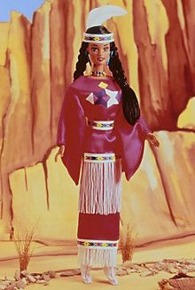 Native American Barbie® Doll 3rd Edition, 1995; Purchased at Deseret Industries in Provo, UT, for $1.00