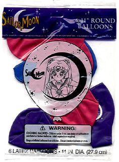 SailorMoon balloons