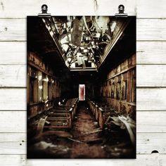 exploration photography, train, railcar, industrial decor ♥♥♥ AMAZING