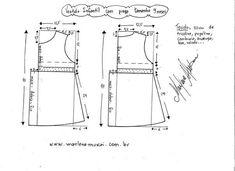 Vestido de patrón para niñas de 1 a 12 años (Costura y corte)   Revista Inspiración de la mujer de aguja