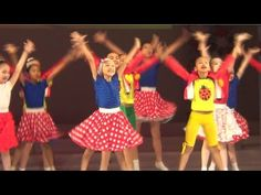 Таберик: Детский современный танец 2 (Отчетный 2015 II отд, часть 11) - YouTube