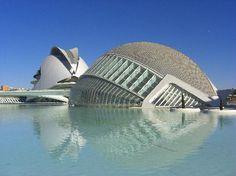 La ciudad del los Artes Y las Ciencias (the City of Arts and Sciences), Valencia, Spain