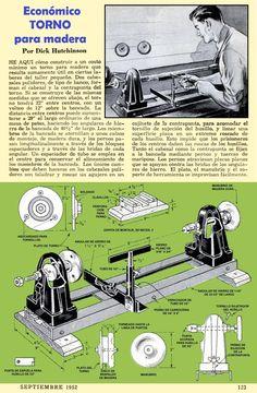 ECONOMICO TORNO PARA MADERA SEPTIEMBRE 1952 001