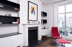 High Gloss Alcove Units — Bespoke AV Storage — Architecture — Design — Furniture Design — Wildercreative