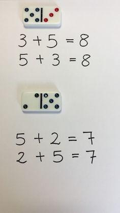 domino descomponiendo numeros