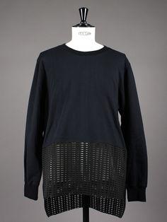 Tile Sweatshirt Black by Odeur SS15 - Aplace.com