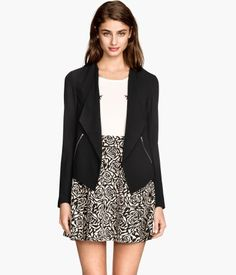 Crepe Jacket | H&M US $24.95 not on sale