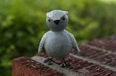 Spencer the Snowy Owl by Abbybelle on Etsy, $15.00
