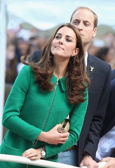 Kate Middleton Photos: The Duke Duchess of Cambridge And Prince Harry Attend The Tour De France Grand Depart