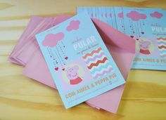 convite peppa pig | Craft Party