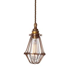 Bring rustic elegance to your home with this Praia Industrial Cage Pendant Light form Mullan. Featuring an adjustable base to create a variety of subtle finishes its bulb is surrounded by a chic in...