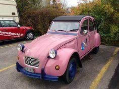 Nice old car Citron!